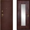 металлическая дверь дива мд09 с зеркалом