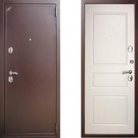 входная дверь зетта 2б2 белая эмаль