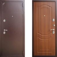 входная дверь зетта 2б2 орех тисненый