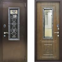 Входная дверь уличная металлическая стоп ковка