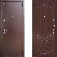 входная дверь зетта 2б2 темный орех
