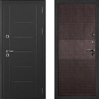 Металлическая дверь Дверной Континент Термаль венге