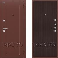 металлическая дверь браво оптим норма венге