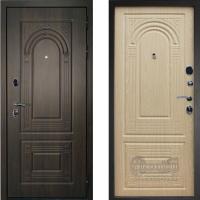 Металлическая дверь Дверной Континент Флоренция орех мокко