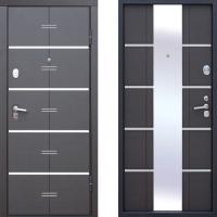 Входная металлическая дверь атлант молдинг венге