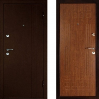 Металлическая дверь Дверной Континент Трио