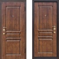 Входная металлическая дверь атлант термо дуб медовый