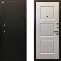 Металлическая дверь Ратибор Трио Лиственница Беж
