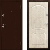 Металлическая дверь Дверной Континент Эксрар Беленый Дуб