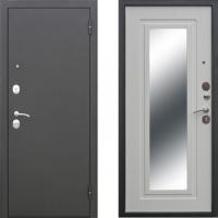 Входная металлическая дверь атлант царское зеркало белый ясень