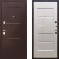 Входная металлическая дверь Атлант - модель Гарда Медь (цвет Белый Ясень)