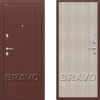 металлическая дверь браво оптим норма капучино