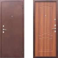 Металлическая дверь Гарда рустикальный дуб