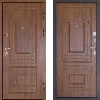 Металлическая дверь Дверной Континент Флоренция золотистый дуб