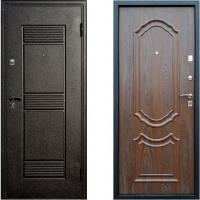 Входная металлическая дверь Атлант - модель Венеция (цвет Венге)