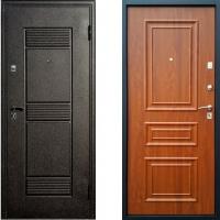 Входная дверь СТОП - модель Византия (цвет Золотистый Дуб)