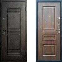 Входная металлическая дверь Атлант - модель Византия (цвет Венге)