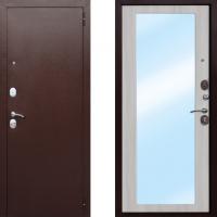 Входная дверь Атлант царское зеркало макси дуб сонома