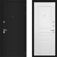 Входная дверь в квартиру лабиринт классик белая эмаль