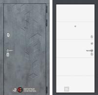 лабиринт бетон 13 белый софт
