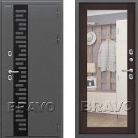 Входная металлическая дверь с терморазрывом для частного дома Bravo Termo 220 (Венге)