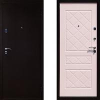 Входная дверь Юганск А ля Русс ( цвет Беленый Дуб )
