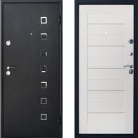 Входная дверь Атлант - модель Квадро (цвет Беленый Дуб)