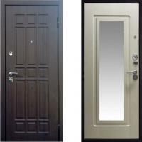 Входная металлическая дверь СТОП Квадро с зеркалом
