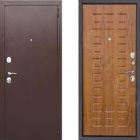 Входная металлическая дверь Снедо Патриот Золотистый Дуб