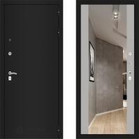 Входная металлическая дверь Labirint Classic с зеркалом макси Софт Грей