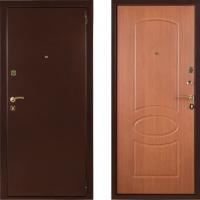 Входная стальная дверь СТОП Бастион Миланский Орех