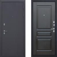 Входная металлическая дверь с терморазрывом для загородного дома АСД Сибирь (цвет Венге)