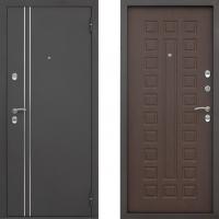 Входная металлическая дверь в дом с терморазрывом АСД Арктика (цвет Венге)