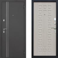 Входная металлическая дверь в дом с терморазрывом АСД Арктика (цвет Беленый Дуб)