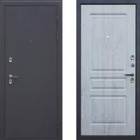 Входная металлическая дверь с терморазрывом для загородного дома АСД Сибирь (цвет Сосна белая)